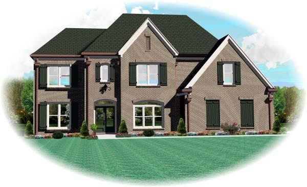 House Plan 46998 Elevation