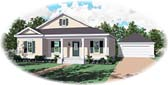 Plan Number 47005 - 1437 Square Feet
