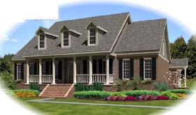 Traditional House Plan 47008 Elevation