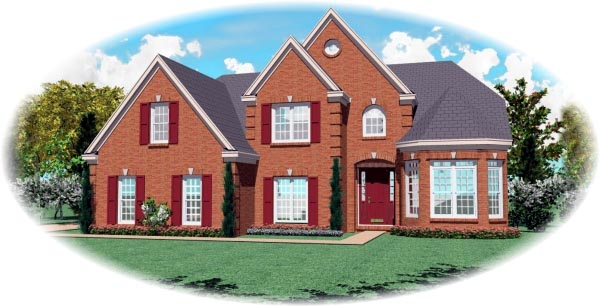 House Plan 47015 | Victorian Style Plan with 2567 Sq Ft, 4 Bedrooms, 3 Bathrooms, 2 Car Garage Elevation