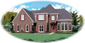 Victorian House Plan 47018 Elevation