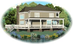 Country House Plan 47033 Elevation
