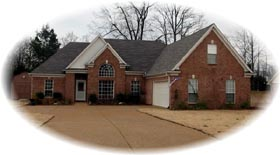 House Plan 47035 | Traditional Style Plan with 2155 Sq Ft, 3 Bedrooms, 2 Bathrooms, 2 Car Garage Elevation