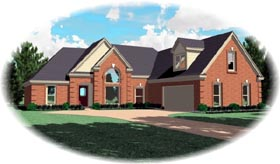 Traditional House Plan 47039 Elevation
