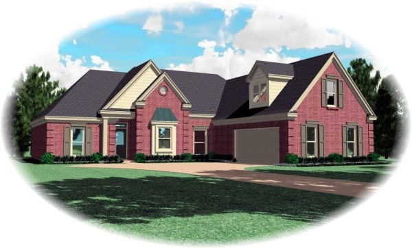 Traditional House Plan 47041 Elevation