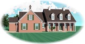 Cape Cod House Plan 47049 Elevation