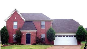 House Plan 47053 with 3 Beds, 3 Baths, 2 Car Garage Elevation