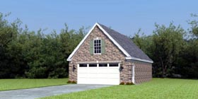 Garage Plan 47055 Elevation