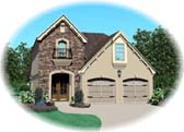 Plan Number 47066 - 1607 Square Feet