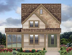 French Country House Plan 47081 Elevation