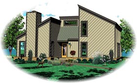 Plan Number 47098 - 1641 Square Feet