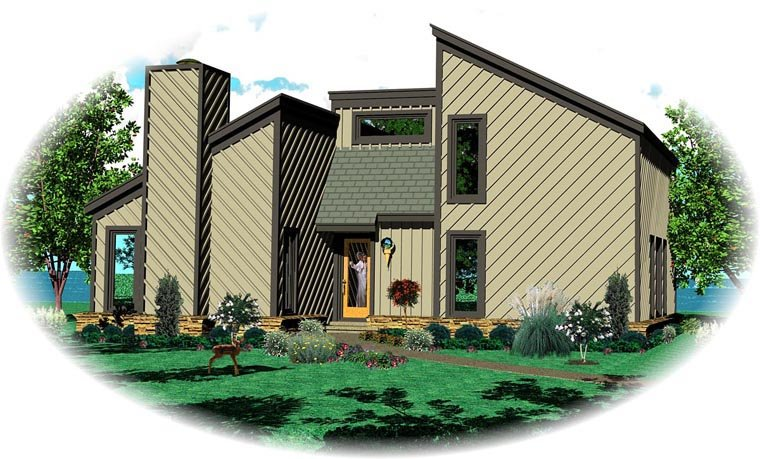Traditional House Plan 47098 Elevation