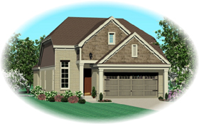 House Plan 47113 Elevation