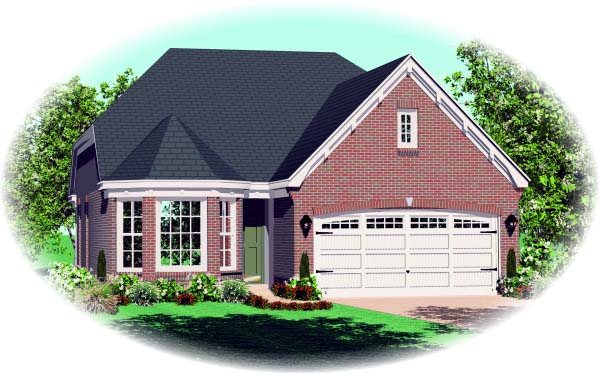 House Plan 47118 Elevation