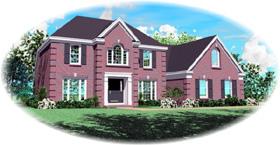 House Plan 47121 Elevation