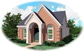 Plan Number 47132 - 1185 Square Feet