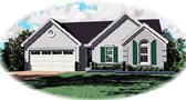 Plan Number 47134 - 1168 Square Feet