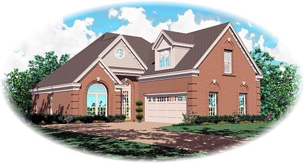 Traditional House Plan 47135 Elevation