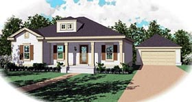 Traditional House Plan 47142 Elevation