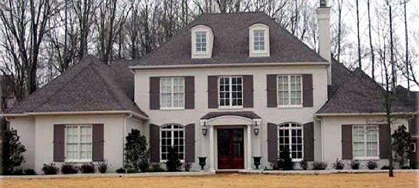 Traditional House Plan 47159 Elevation