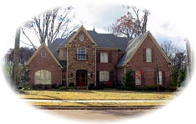European , Traditional House Plan 47163 with 4 Beds, 5 Baths, 3 Car Garage Elevation