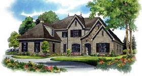 Plan Number 47164 - 5214 Square Feet