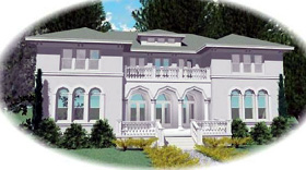 European Mediterranean Traditional House Plan 47169 Elevation