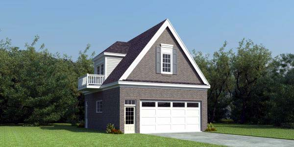 Garage Plan 47170 Elevation