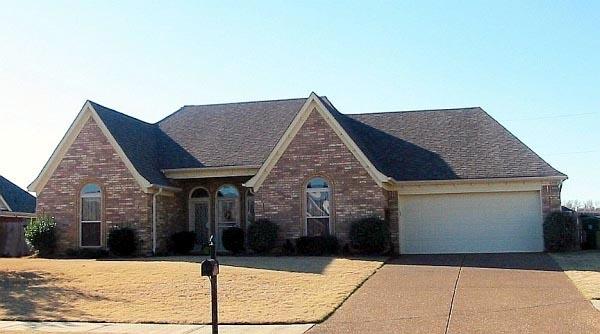 House Plan 47190 Elevation
