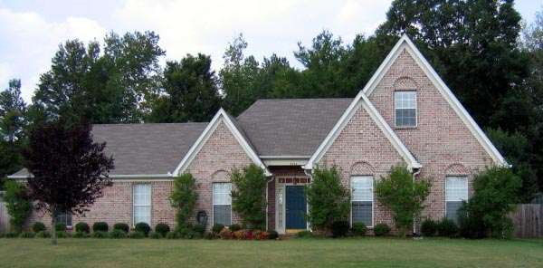 House Plan 47195 Elevation