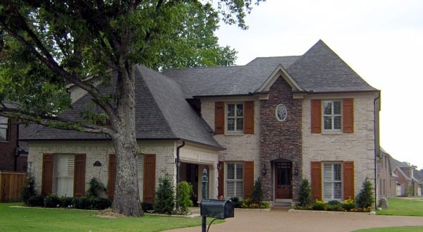 House Plan 47198 | Style Plan with 3180 Sq Ft, 4 Bedrooms, 4 Bathrooms, 2 Car Garage Elevation
