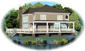 Country House Plan 47200 Elevation