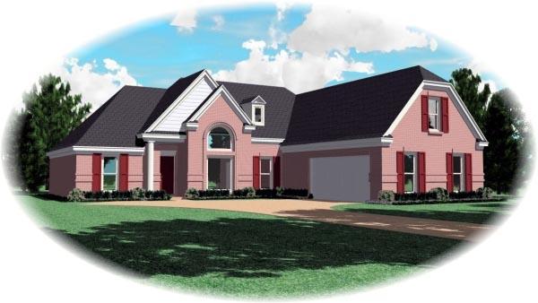 House Plan 47201 Elevation