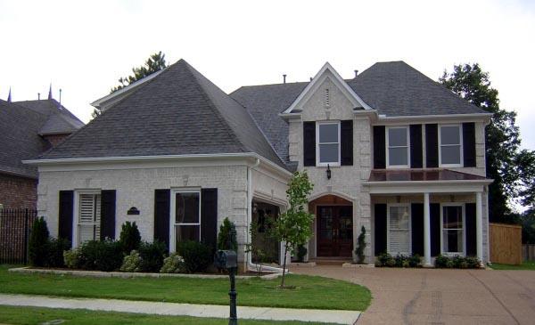 House Plan 47211 Elevation