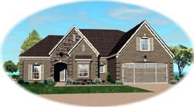 House Plan 47221 Elevation