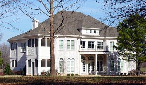 House Plan 47222 Elevation
