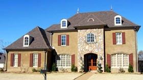 House Plan 47223 Elevation