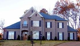 House Plan 47229 Elevation