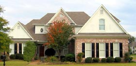 House Plan 47236 | Style Plan with 3724 Sq Ft, 4 Bedrooms, 4 Bathrooms, 3 Car Garage Elevation