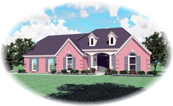 House Plan 47243 Elevation