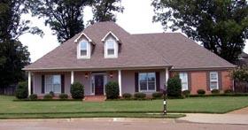 House Plan 47245 Elevation