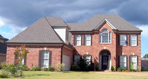 House Plan 47247 Elevation