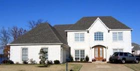 House Plan 47262 Elevation