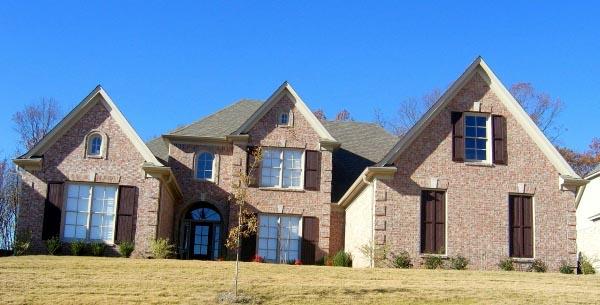 House Plan 47273 Elevation