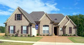 House Plan 47276 Elevation