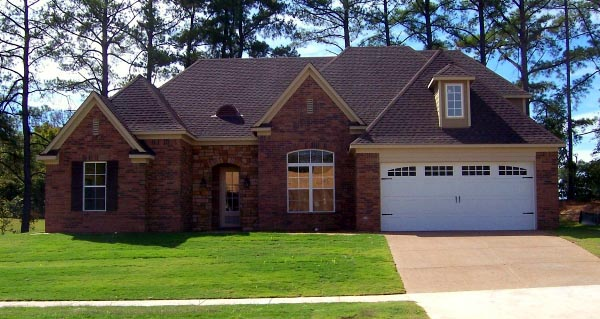 House Plan 47277 | Style Plan with 3052 Sq Ft, 4 Bedrooms, 3 Bathrooms, 2 Car Garage Elevation