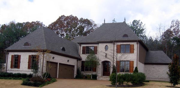 House Plan 47282 Elevation