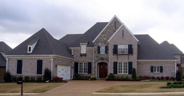 House Plan 47283 Elevation