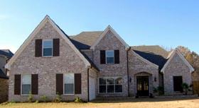 House Plan 47293 Elevation