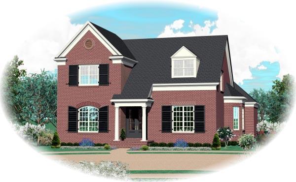 House Plan 47299 Elevation
